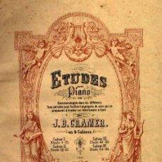 Partituras musicales - VOLUMEN DE ESTUDIOS PARA PIANO: CRAMER, CZERNY, BACH, DUSSEK - 23733678