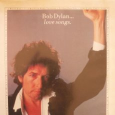 Partituras musicales: BOB DYLAN... LOVE SONGS. Lote 35782784