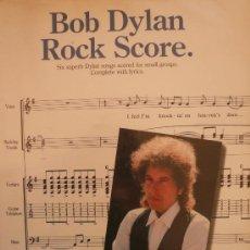 Partituras musicales: BOB DYLAN / ROCK SCORE. Lote 35782786