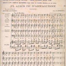 Partituras musicales: LOTE DE 4 PARTITURAS. Lote 24898992