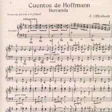Partituras musicales: LOTE DE 4 PARTITURAS. Lote 27231409