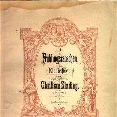 Partituras musicales: HOCHZEITSTAG AUF TROLDHAUGEN DE EDVARD GRIEG OP. 65 Nº 6 EDICIÓN PETERS. Lote 25903013