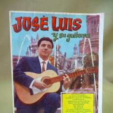Partituras musicales: REVISTA, CANCIONERO, JOSE LUIS Y SU GUITARRA, EDICIONES BISTAGNE. Lote 27856094