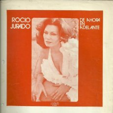 Partituras musicales: ROCIO JURADO PARTITURA DE LA CANCION SI TE HABLA DE MI. Lote 28079587