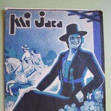 Partituras musicales: MI JACA - PASODOBLE. MOSTAZO J. (MÚSICA), PERELLO R. (LETRA), 1935. Lote 28671875