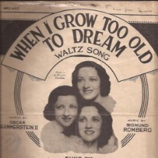 Partituras musicales: PARTITURA-BOSWELL SISTERS-UK- AÑOS 40???. Lote 28892133