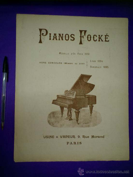 Partituras musicales: PARTITURA: JOYEUX BRABANT. VALSE BRILLANTE POUR PIANO... - Foto 2 - 30745324