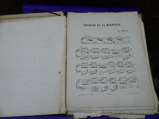 Partituras musicales: PARTITURAS. LOTE CARTAPACIO+PARTITURAS. MUSIQUE. VER... - Foto 4 - 30750225
