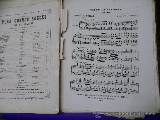 Partituras musicales: PARTITURAS. LOTE CARTAPACIO+PARTITURAS. MUSIQUE. VER... - Foto 10 - 30750225