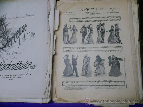 Partituras musicales: PARTITURAS. LOTE CARTAPACIO+PARTITURAS. MUSIQUE. VER... - Foto 11 - 30750225