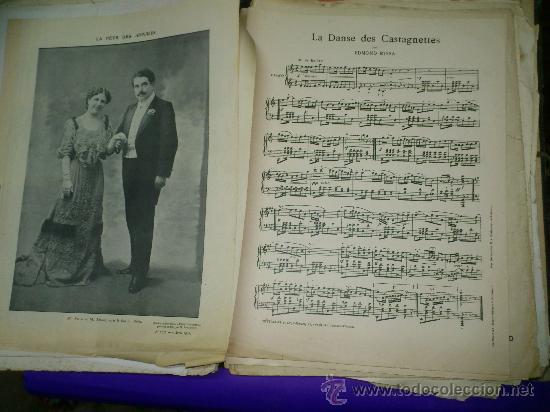 Partituras musicales: PARTITURAS. LOTE CARTAPACIO+PARTITURAS. MUSIQUE. VER... - Foto 12 - 30750225