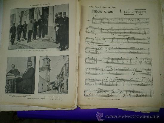 Partituras musicales: PARTITURAS. LOTE CARTAPACIO+PARTITURAS. MUSIQUE. VER... - Foto 13 - 30750225
