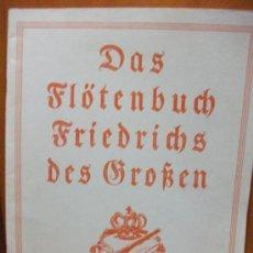 Partituras musicales: PARTITURA PARA FLAUTA FRIEDRICHS DES GROSSEN - AÑO 1962 - EXCELENTE ESTADO -!. Lote 30929751