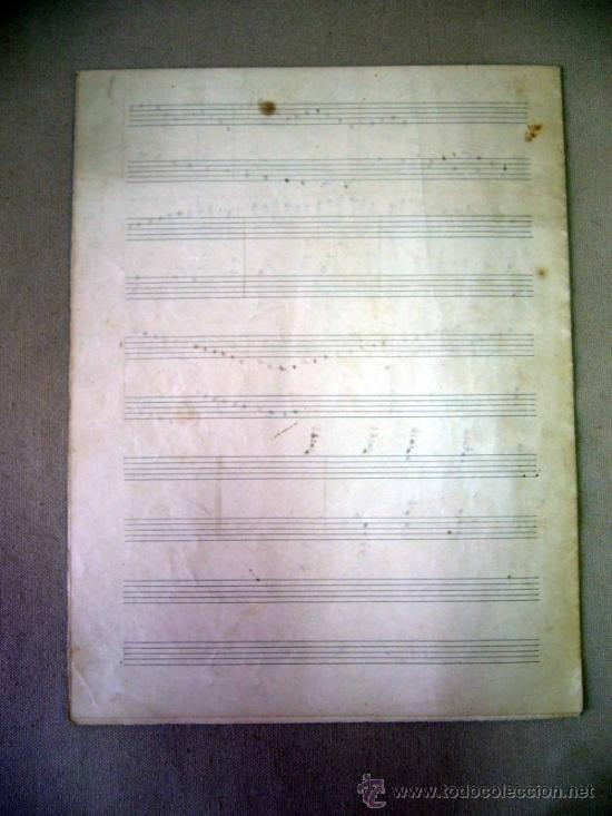 Partituras musicales: PARTITURA MANUSCRITO, AL PIE DE LA REJA, LUIS MARIANI, OP 33, CON ARREGLOS DE CARRILLO, 1898 - Foto 7 - 31240012