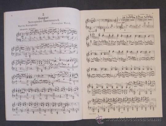 Partituras musicales: GRIEG - OPUS 54 - Foto 3 - 31154344