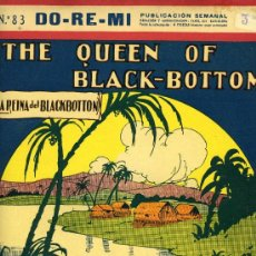 Partituras musicales: PARTITURA DEL CHARLESTÓN 'THE QUEEN OF BLACK-BOTTOM'. 1927.. Lote 31347833
