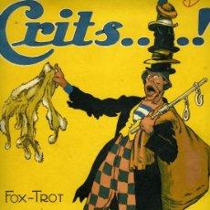 Partituras musicales: PARTITURA DEL FOX-TROT