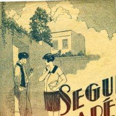 Partituras musicales: PARTITURA DEL TANGO CALLEJERO