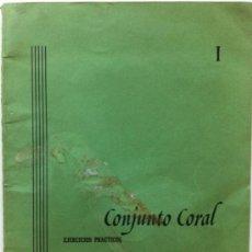 Partituras musicales: PARTITURA MUSICAL CONJUNTO CORAL EJERCICIOS PRÁCTICOS PEDRO AIZPURUA REAL MUSICAL MADRID. Lote 31772882