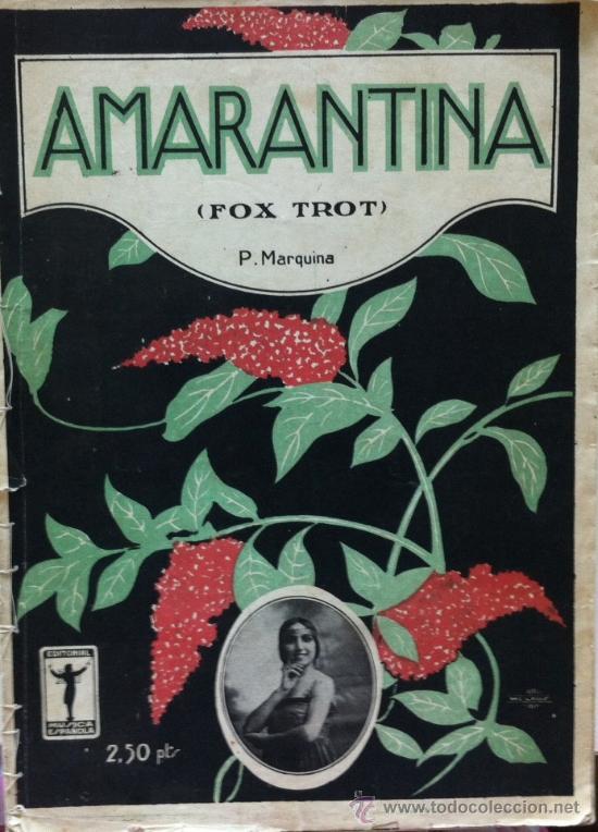 Partituras musicales: Partitura conjunto tres partituras cosidas Amarantina, La bejarana, Pingo mio - Foto 1 - 31773523