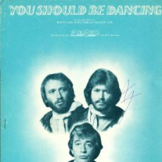 Partituras musicales: THE BEE GEES - 1976. Lote 32169561