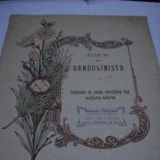 Partituras musicales: PARTITURA PARA PIANO BANDOLIM, BANDOLA Y VIOLAO. JUVENTINO ROSAS: SOBRE AS ONDAS. VALSA. 11 PAGS.. Lote 32396214