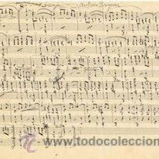 Partituras musicales: MUSICA.PARTITURA AUTOGRAFIADA.LUCERITO (DANZÓN).C.1920.PAGS.6.AUTOR MUSICA : ANTONIO BRUGUERA. Lote 32571738