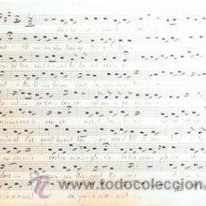 Partituras musicales: MUSICA.PARTITURA MANUSCRITA.LA VERGE BRESSANT.C.1920.PAGS. 23. AUTOR MUSICA : C FRANCK . Lote 32579182