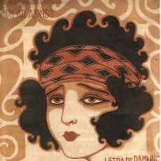 Partituras musicales: ZARZUELA PARTITURA E.BURRULL.¡PIDE!. 8 PAG.. Lote 32583223