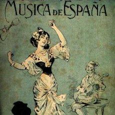 Partituras musicales: RECOPILACIÓN PARTITURAS ENCUADERNADAS VARIOS AUTORES ESPAÑOLES PARA PIANO. Lote 32786557