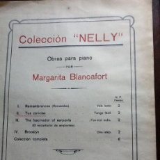 Partituras musicales: PARTITURA PIANO AÑO 1920. Lote 33133117