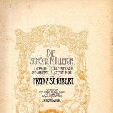 Partituras musicales: SCHUBERT FANTASÍA EN DO MAYOR, OP 15 PARA PIANO. Lote 33346614