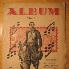 Partituras musicales: EL TANGO DE MODA. ALBUM Nº5. Lote 33788902
