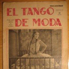 Partituras musicales: EL TANGO DE MODA. Nº 13. 1929. Lote 33789030