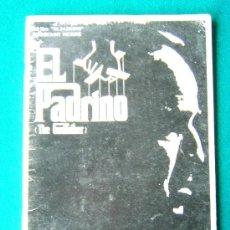 Partituras musicales: EL PADRINO-THE GODFATHER-PARTITURA FILM-COPPOLA-CIFRADO GUITARRA-1972-1ª EDICION RARISIMO.. Lote 34911222