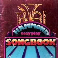 Partituras musicales: HAMMOND EASY PLAY SONGBOOK. Lote 36672192