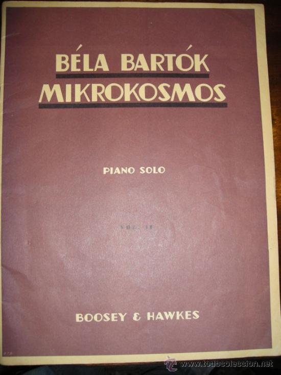 Partituras musicales: MIKROKOSMOS - BELA BARTOK - LOTE VOLUMENES 1, 2 y 3 PIANO SOLO - BOOSEY & HAWKES - Foto 3 - 36808811