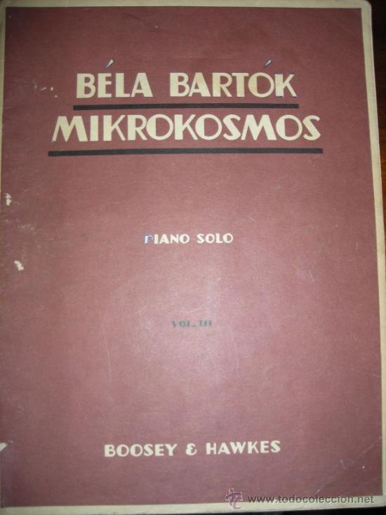 Partituras musicales: MIKROKOSMOS - BELA BARTOK - LOTE VOLUMENES 1, 2 y 3 PIANO SOLO - BOOSEY & HAWKES - Foto 5 - 36808811