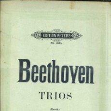 Partituras musicales: BEETHOVEN : TRIOS - VIOLONCELLO. Lote 37785514