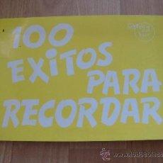 Partituras musicales: 100 EXITOS PARA RECORDAR SOUTHERN MUSIC ESPAÑOLA EDICIONES MD BARCELONA 1981. Lote 38675212