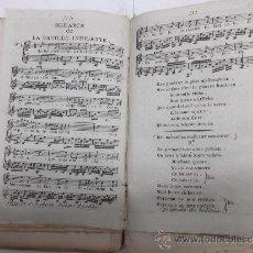 Partiture musicali: LOTE DE 117 PARTITURAS DE ROMANCES S. XVIII-XIX, DEVIENNE, GAVEAUX, DALAYRAC, GRETRY, GRESNICK... Lote 38846335