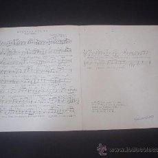 Partituras musicales: PARTITURA PARA PIANO SOLEDAD SIN TI - ROCK LENTO . Lote 39195111