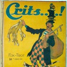 Partituras musicales: CRITS. FOX-TROT ANTIGUA. Lote 39697840