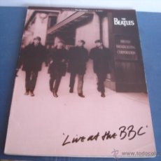 Partituras musicales: THE BEATLES LIVE AT THE BBC SHEETMUSIC (PARTITURAS). Lote 41319828