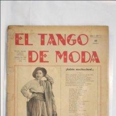 Partituras musicales: PARTITURA ¡ADIÓS MUCHACHOS! - REVISTA EL TANGO DE MODA - CELIA DEZA - ED.GARROFÉ - MÚSICA DE SANDERS. Lote 41433093