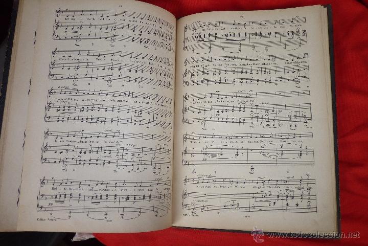 Partituras musicales: MÚSICA CLÁSICA, LIBRETO DE PARTITURAS SCHUMAN-ALBUM, MUY ANTIGUO - Foto 3 - 41467560
