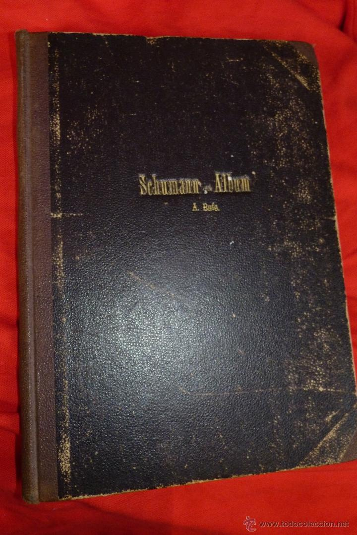 Partituras musicales: MÚSICA CLÁSICA, LIBRETO DE PARTITURAS SCHUMAN-ALBUM, MUY ANTIGUO - Foto 11 - 41467560