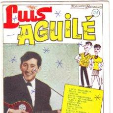 Partituras musicales - CANCIONERO DE LUIS AGUILÉ - 41554412