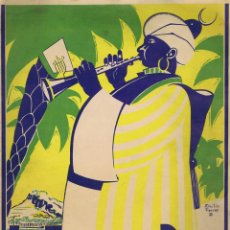 Partiture musicali: FRANCISCO ALONSO. LA FESTA DEL POBLE (LA FIESTA DEL PUEBLO) - PASODOBLE MORISCO ESCRITO EXPRESAMENTE. Lote 41965404