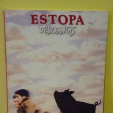 Partituras musicales: ESTOPA , LIBRO PARTITURAS DESTRANGIS. Lote 162519366